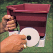 image of a hand held fire ant bait spreader