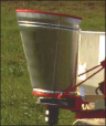 Herd GT 77 seeder used to spread fire ant bait